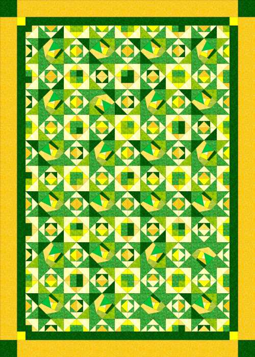 green-and-yellow
